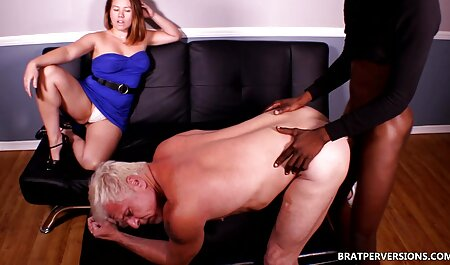 Three holes at indian aunty xxx the same time